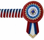 Full Red/Royal Browband