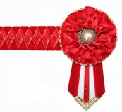 Full Red Browband