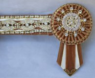 Full Brown/Cream Browband