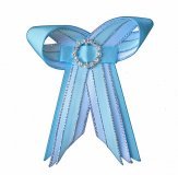 Baby Blue Childs Hair Bows