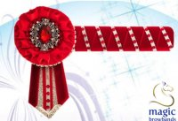 WB Red/Silver Browband