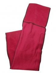 Saddle Saver, burgundy red