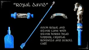 """Royal David"" Cane"