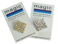 Square bling stock pin