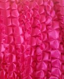 Boxpleat 15mm Hot Pink