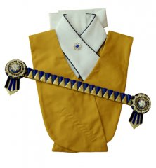 Mustard, navy, royal and gold set