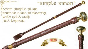 """Simple Simon"" Cane"
