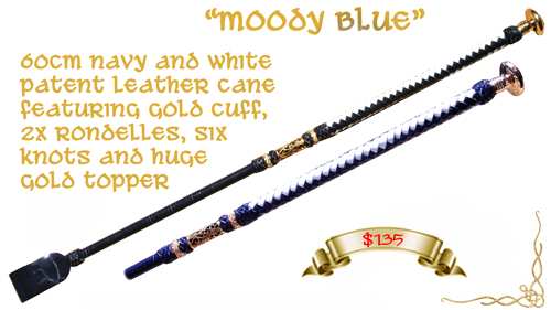 """Moody Blue"" Cane - Click Image to Close"