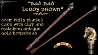 """Bad Bad Leroy Brown"" Cane"